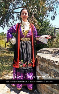 Παραδοσιακή φορεσιά Ζαγορίου-Αιμιλία Γιαννόπουλου