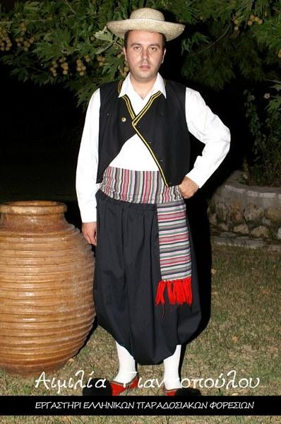 Ανδρική Παραδοσιακή Φορεσιά Κέρκυρας