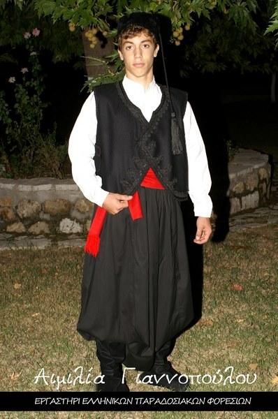 Ανδρική Παραδοσιακή Φορεσιά Ρόδου