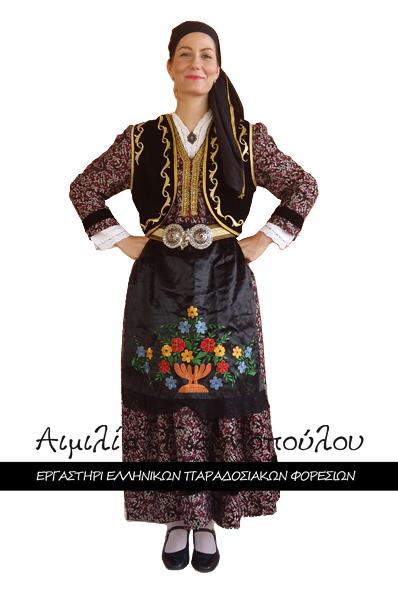 Παραδοσιακή Φορεσιά Δεσκάτης Γρεβενών
