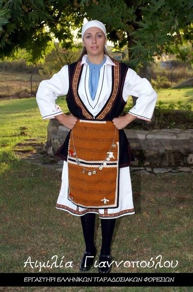 Γυναικεία Παραδοσιακή Φορεσιά Φλώρινας
