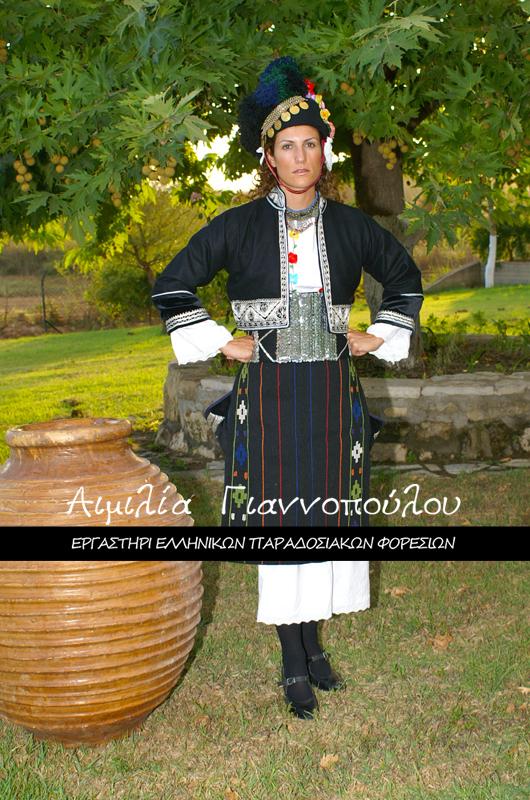 Γυναικεία Παραδοσιακή Φορεσιά Αλεξάνδρειας Γιδάς (Ρουμλουκίου)
