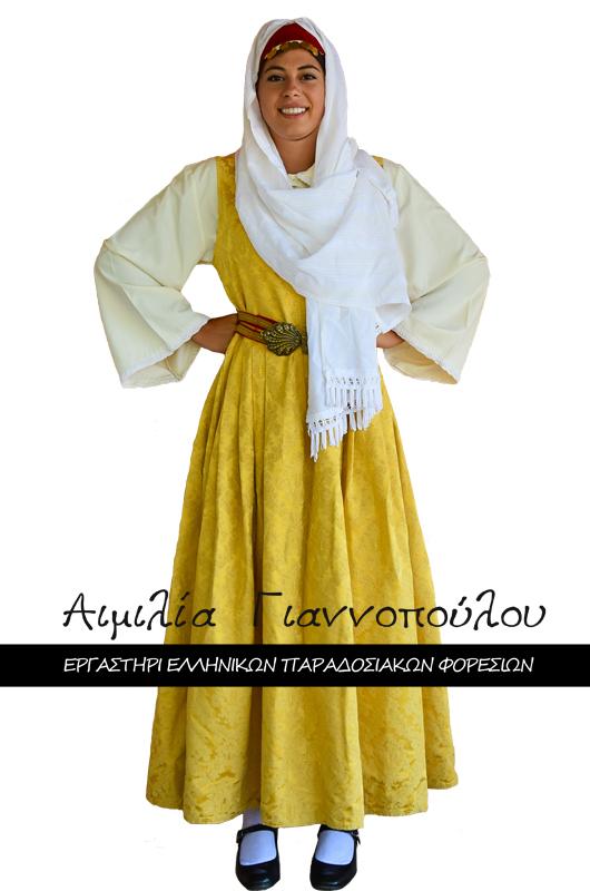 Γυναικεία Παραδοσιακή Φορεσιά Σάμου