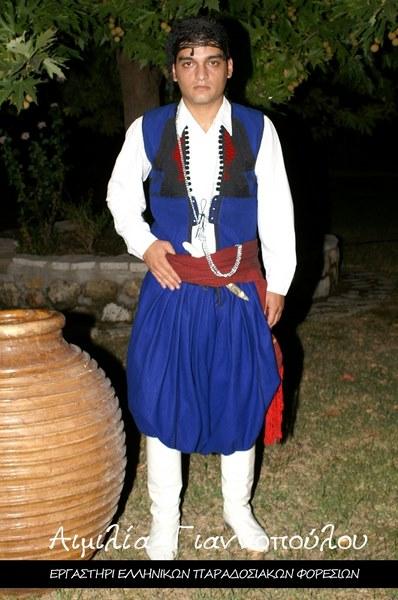 Ανδρική Παραδοσιακή Φορεσιά Ανωγείων