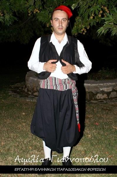 Ανδρική Παραδοσιακή Φορεσιά Κυκλάδων