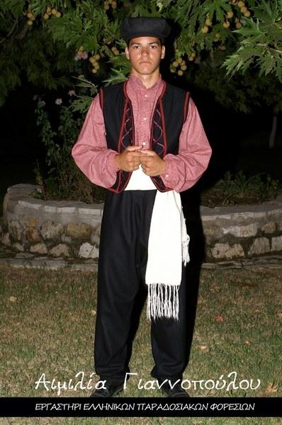 Ελληνικές Παραδοσιακές Φορεσιές Μακεδονίας | Ανδρική Παραδοσιακή Φορεσιά Μακεδονίας