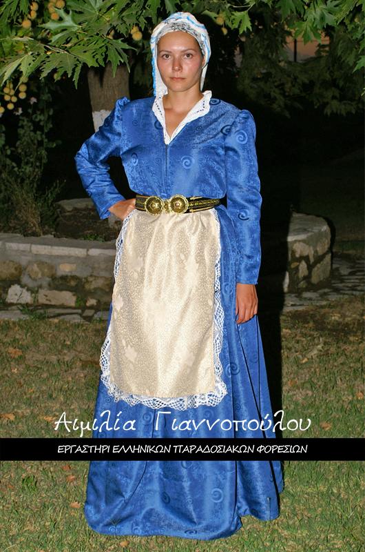 Γυναικεία Παραδοσιακή Φορεσιά Νάξου