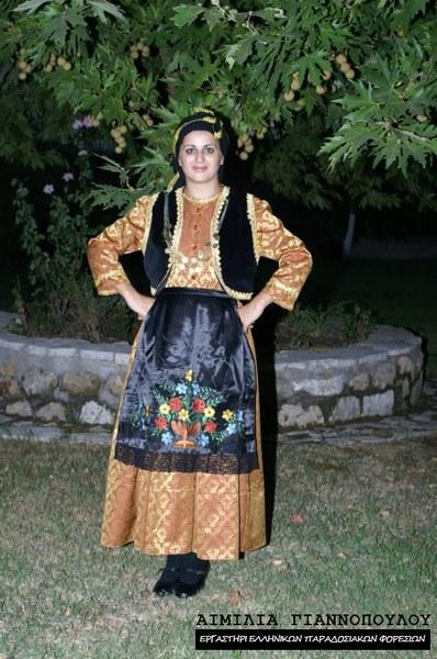 Γυναικεία Παραδοσιακή Φορεσιά Βλάχα Θεσσαλίας