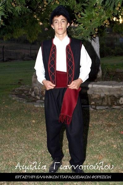 Ανδρική Παραδοσιακή Φορεσιά Θράκης